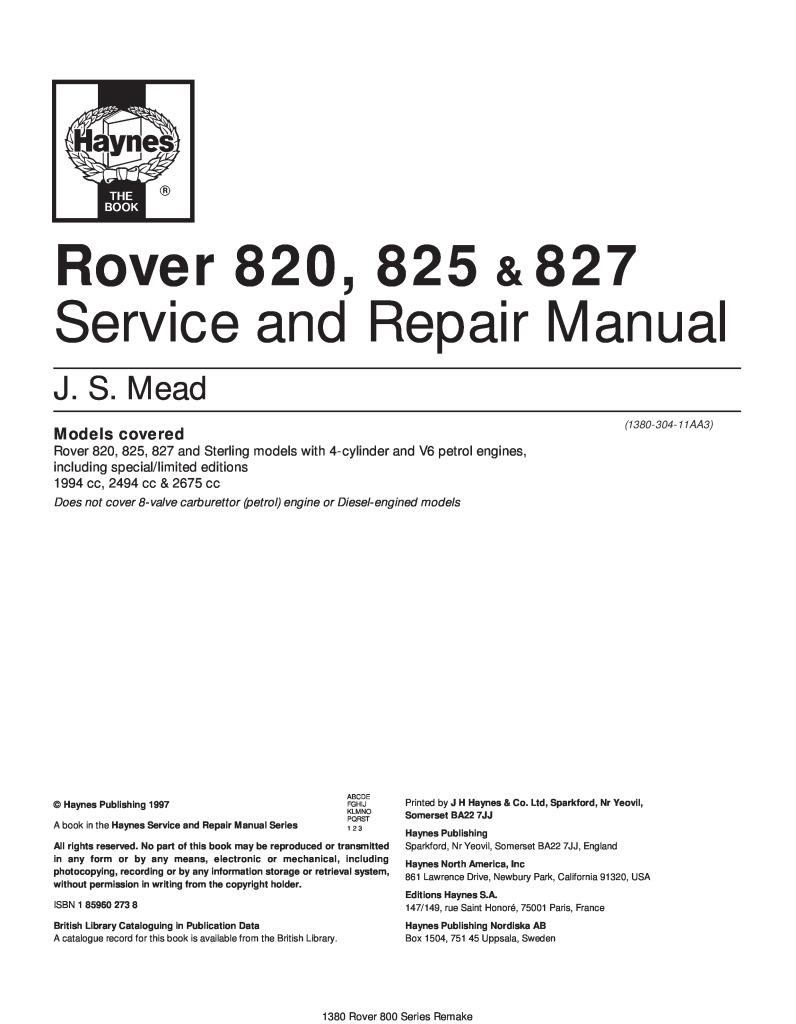 149 Rue Saint Honoré 820 825 827 haynes workshop manual.pdf (6.96 mb)
